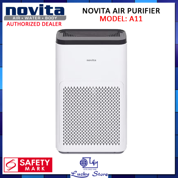 (Bulky) NOVITA A11 AIR PURIFIER, LARGE COVERAGE AREA, 1 YEAR WARRANTY Singapore