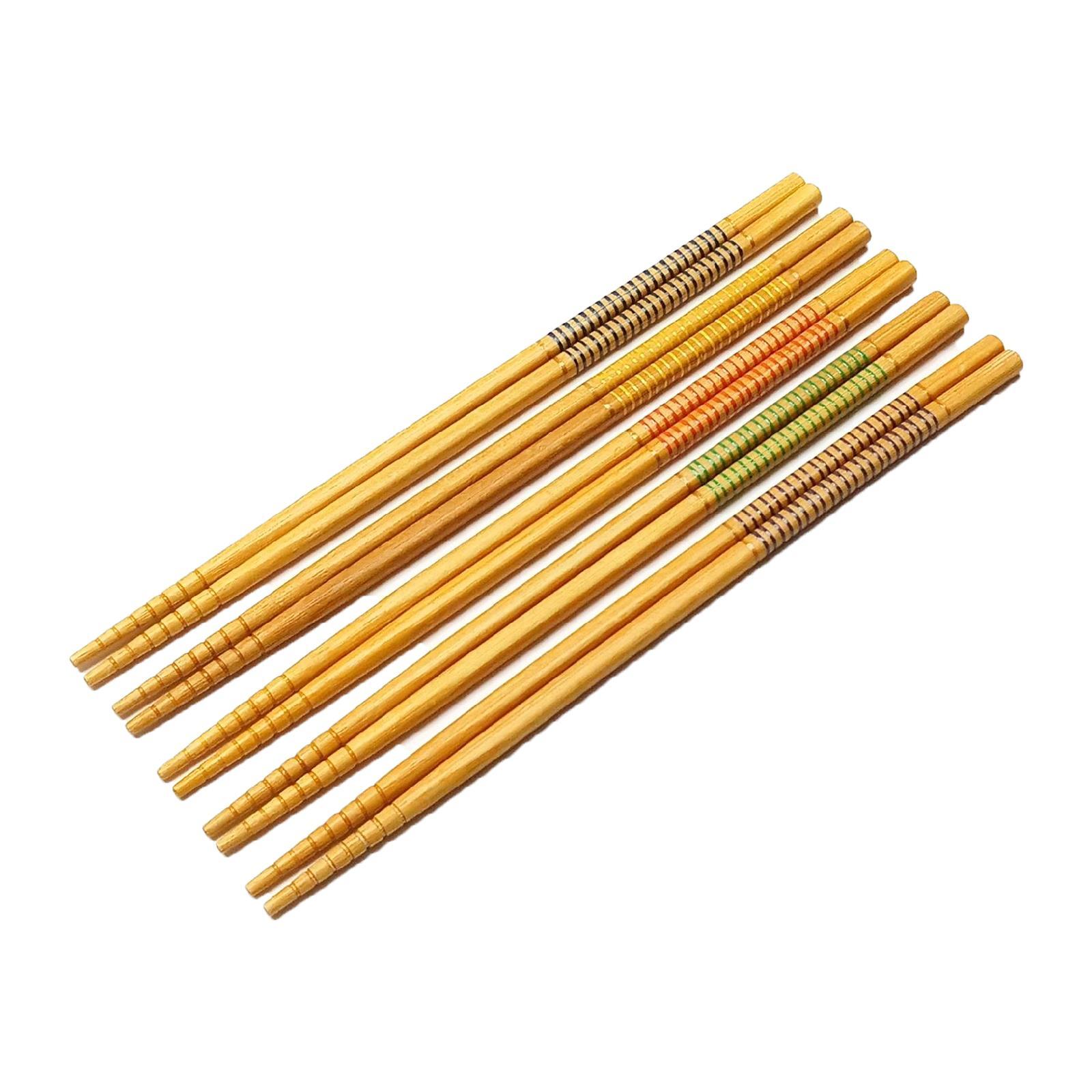 Vesta Bamboo Japanese Chopsticks 22.5CM (5PCS)