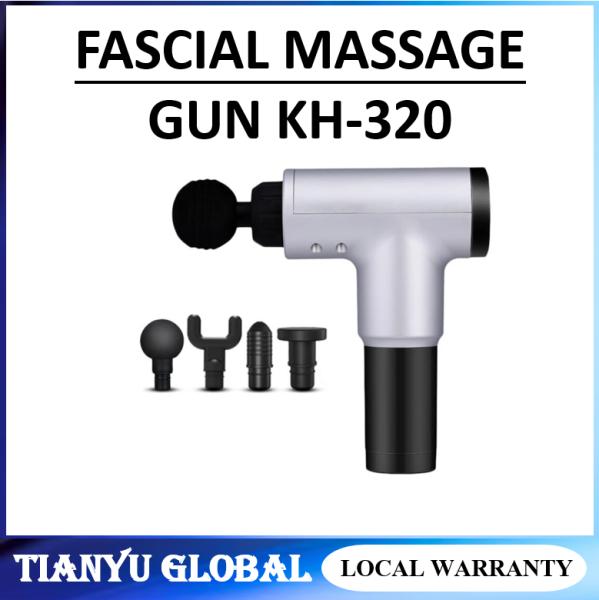 Buy Massage Gun KH 320 Muscle Relaxation Massager Vibration Fascial Gun Fitness Equipment Noise Reduction Design Singapore
