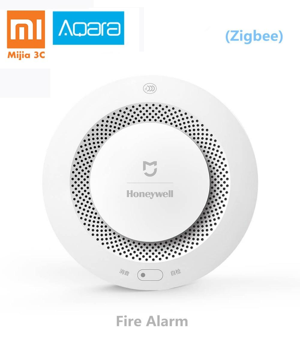 Xiaomi Mijia Honeywell Fire Alarm Detector Zigbee Remote Control Audible and Visual Alarm Notication Work with Mihome APP