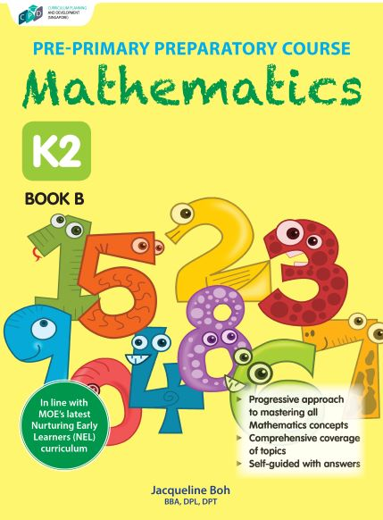 Pre-primary Preparatory Course Mathematics K2 Book B/Preschool Assessment Books
