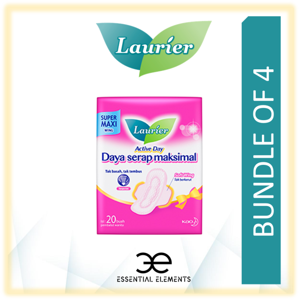 Buy LAURIER [BUNDLE OF 4] SANITARY PADS Active Day Wing Singapore