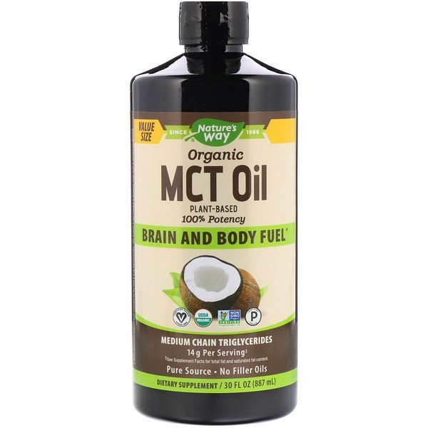 Buy Natures Way, Organic MCT Oil, 30 fl oz (887 ml) Singapore