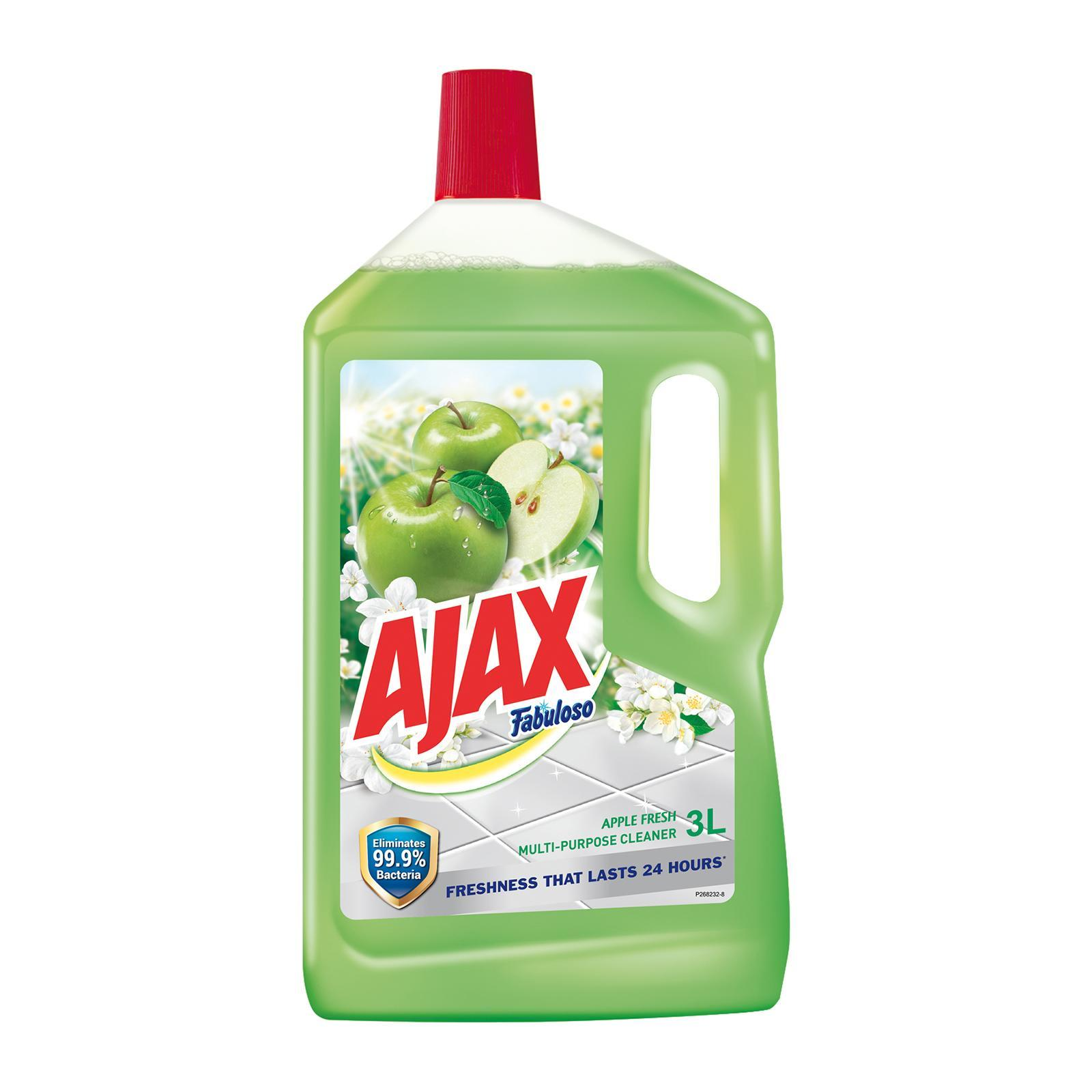 Ajax Fabuloso Apple Multi Purpose Cleaner 3l By Redmart.