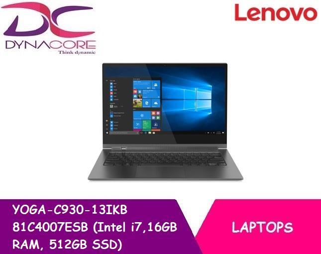Lenovo YOGA-C930-13IKB 81C4007ESB (Intel i7,16GB RAM, 512GB SSD)