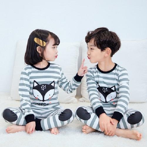 Big Kids Pyjamas /children Family Couple Pyjamas Set Up To Size 180cm Boys [pjo13] By Jolly Sg.