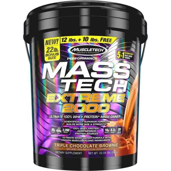 Buy MuscleTech Mass Tech Extreme 2000 22 lbs Singapore