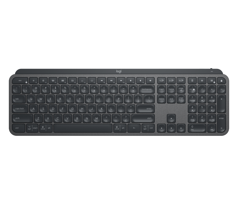Logitech MX Keys Advanced Wireless Keyboard Singapore