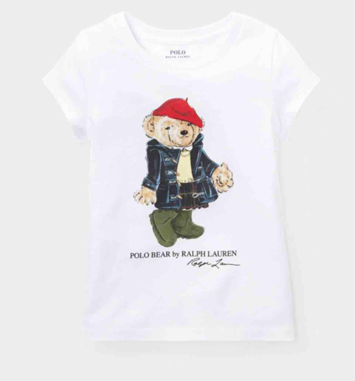 By T Lauren Cotton Shirt Bear Polo Ralph shQtrdxCB