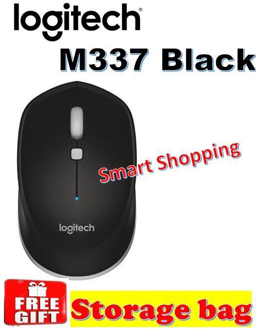 Logitech M337 Bluetooth Basic Mouse (Black/Grey)
