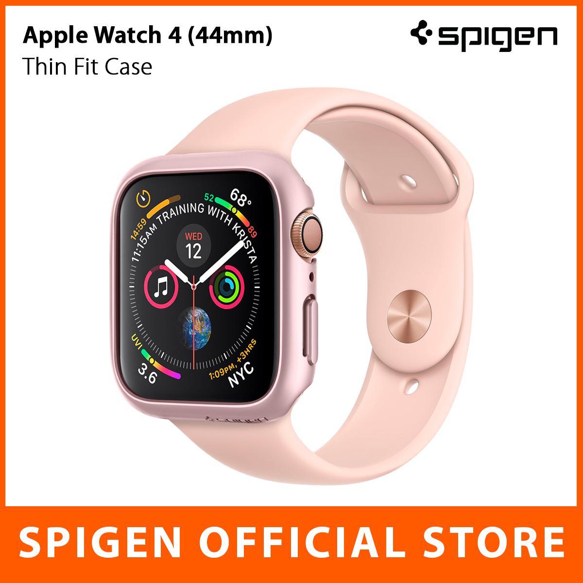 Spigen Apple Watch Series 4 Case Thin Fit (44mm) With Scratch Defense & Slim Design By Spigen Singapore Flagship Store.