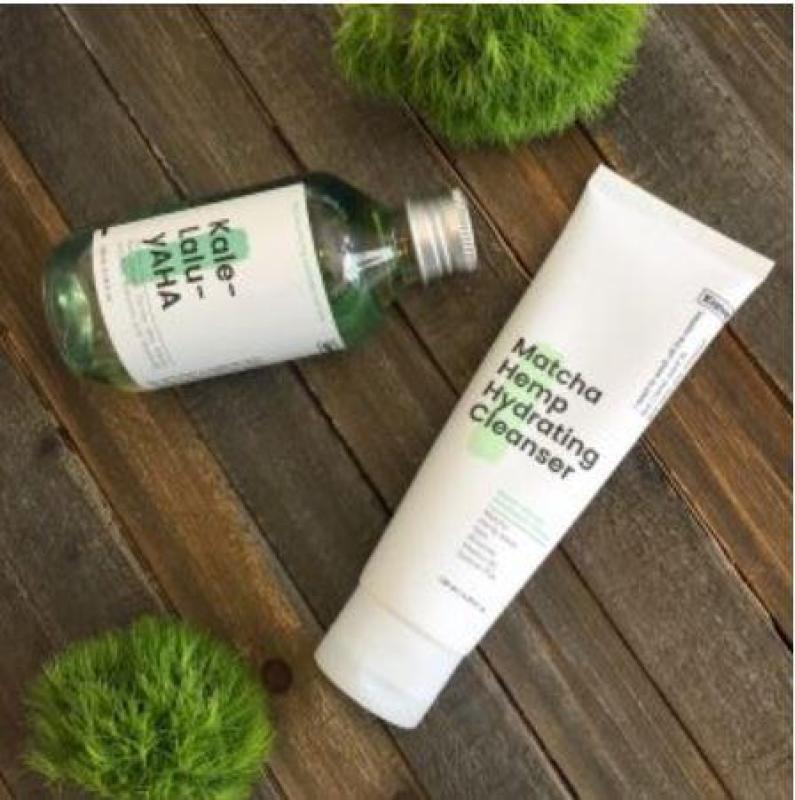 Buy Bundle Deal - Krave Beauty Matcha Hemp Hydrating Cleanser and Kale-Lalu-yaHa - Liah Yoo Press Reset - Greatstuff Singapore