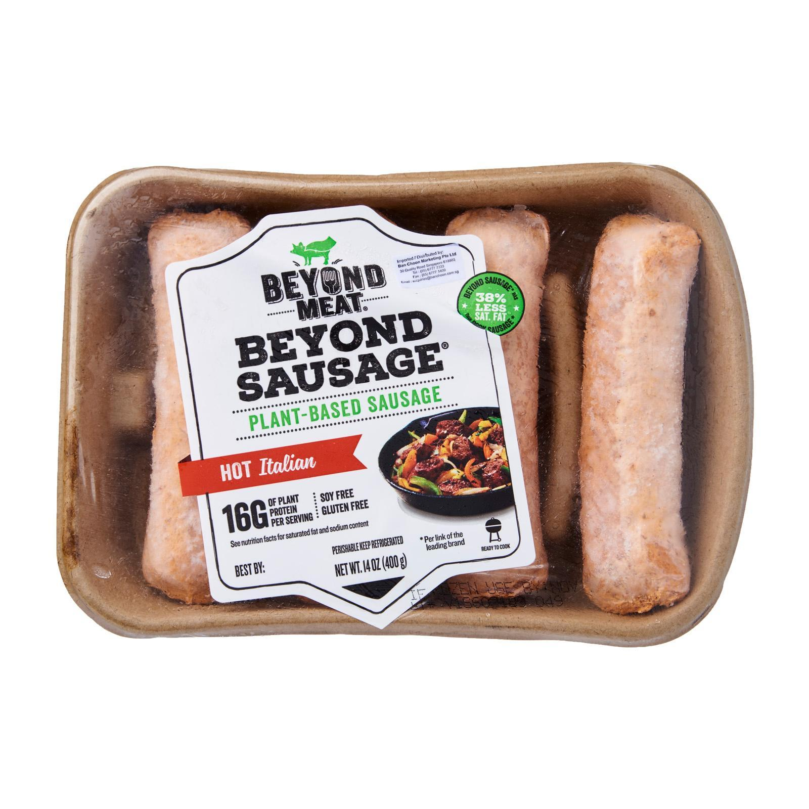 Beyond Meat Sausage Hot Italian Sausage - Frozen