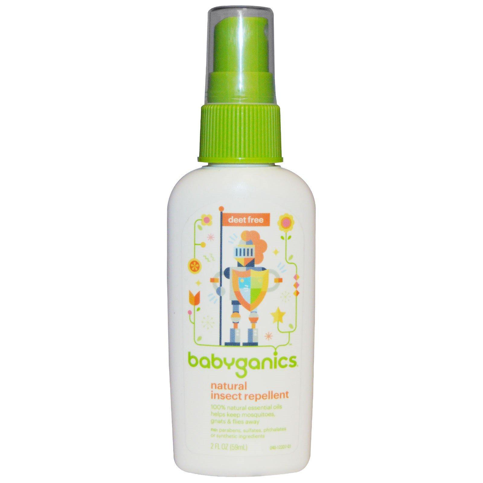 Babyganics, Natural Insect Repellent, 2 Fl Oz (59 Ml) By Oilyfriends.