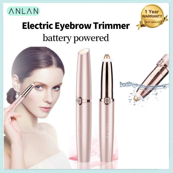 Buy ANLAN Lipstick Electric Eyebrow Trimmer Eyebrow Shaver Remover Depilator Singapore