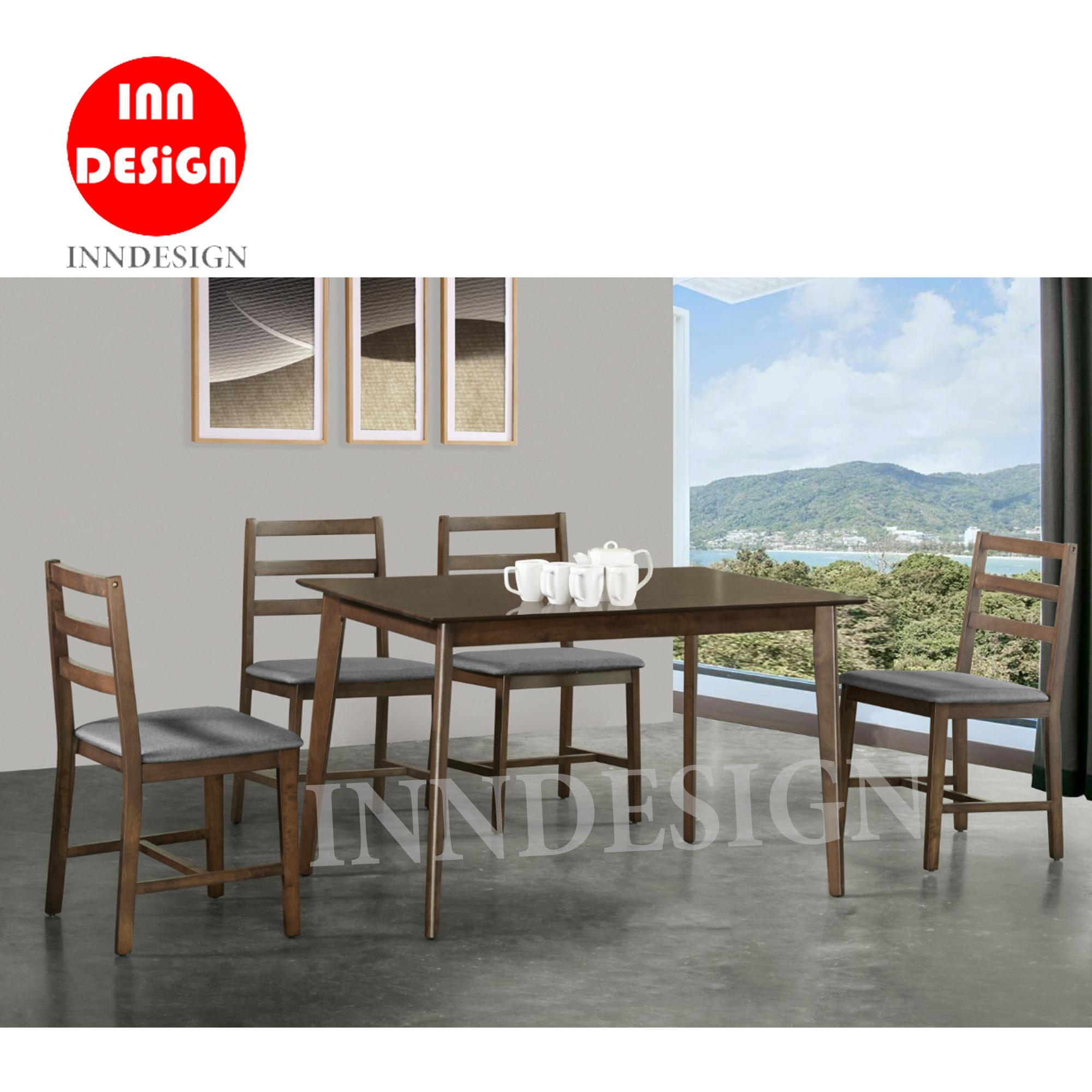 Jesse 1+4 Dining Set (Free Delivery and Installaton)