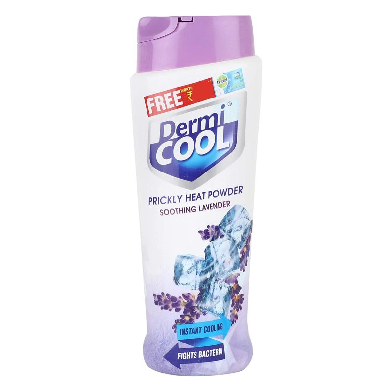 Buy Dermi Cool Prickly Heat Powder Soothing Lavender, 150g- Instant Cooling, Fights Bacteria Singapore
