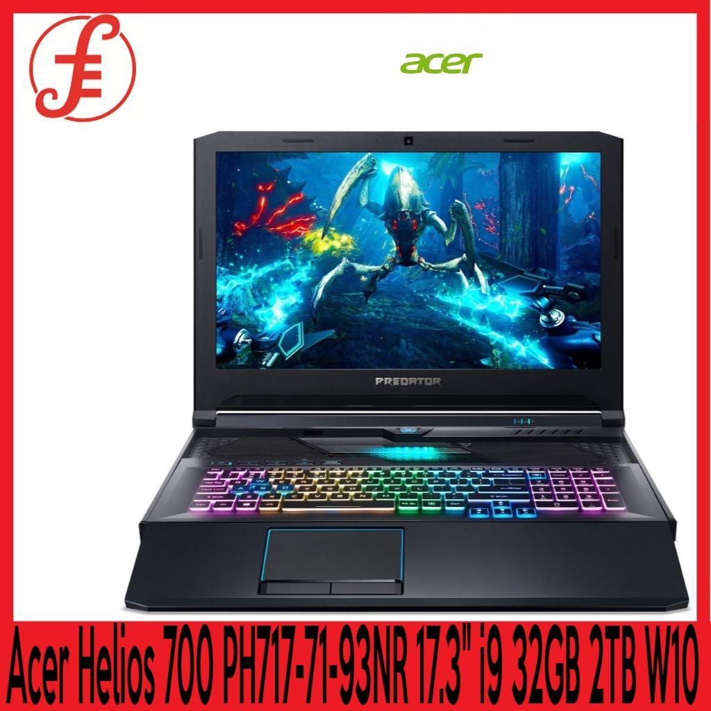 Acer Helios 700 PH717-71-93NR 17.3  i9 32GB 2TB RTX 2070 Graphics W10 Gaming Laptop  ( PH717-71-93NR)