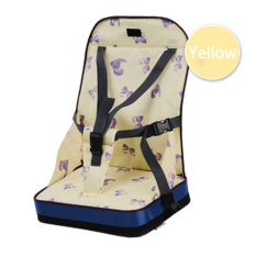 Discount Baby Safety Waterproof Soft Chair Oxford Cotton Infant Seat Feeding Highchair Yellow