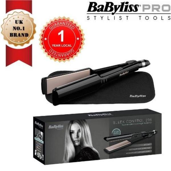 Buy BABYLISS 2179U Sleek Control 235 Hair Straightener with Advanced Nano Ceramic 45mm wide plates Singapore
