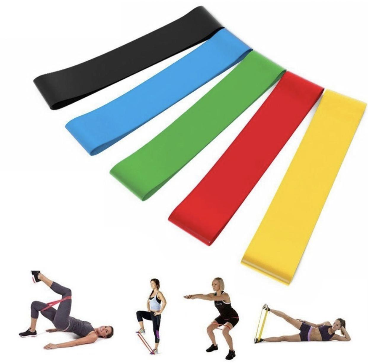 Lower Price with 1.5m Super Exercise Band Long Latex Free Resistance Bands Elastic Yoga Pilates Rubber Stretch Exercise Band Arm Back Leg Fitness Fitness & Body Building Fitness Equipments