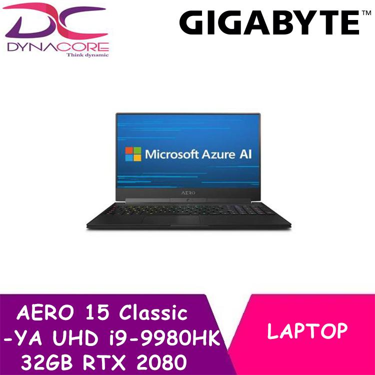 GIGABYTE AERO 15 Classic-YA UHD (i9-9980HK/32GB /RTX 2080/2TB SSD/15.6 In UHD IPS /WIN 10)