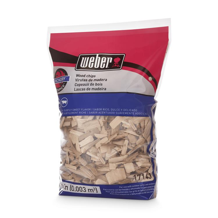 Weber Hickory Wood Chips (1kg) 17143