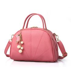 Best Buy Baglink Women Pu Leather Tote Bag Casual Shoulder Bags Watermelon Red Intl