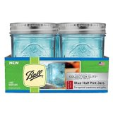 Who Sells Ball Collection Elite Regular Mouth Half Pint 8Oz Blue Mason Jars Set Of 4 Cheap