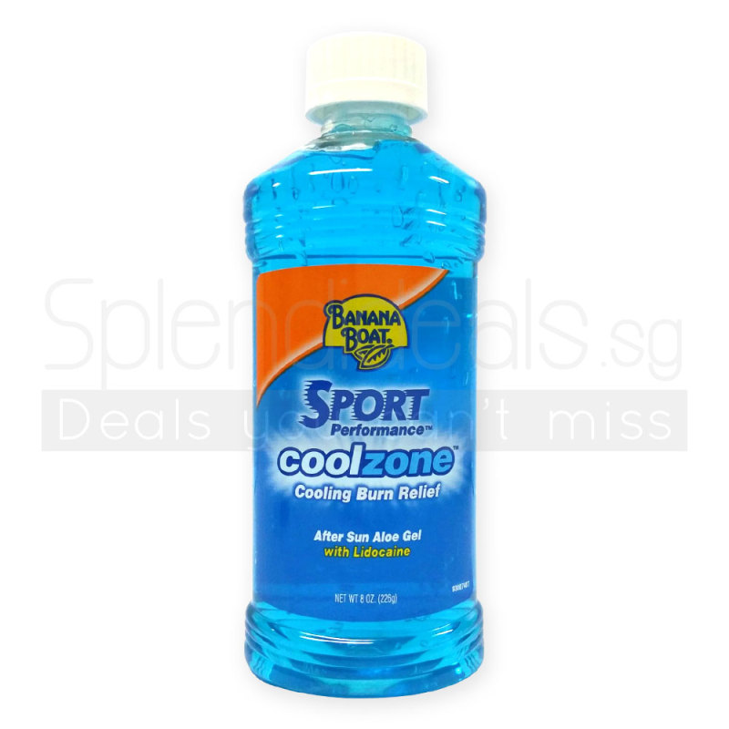 Buy Banana Boat Sport Performance Coolzone Cooling Burn Relief 226g - 1698 Singapore