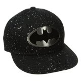 Batman Men S Batmal Metal Badge Flat Brim Hat Compare Prices