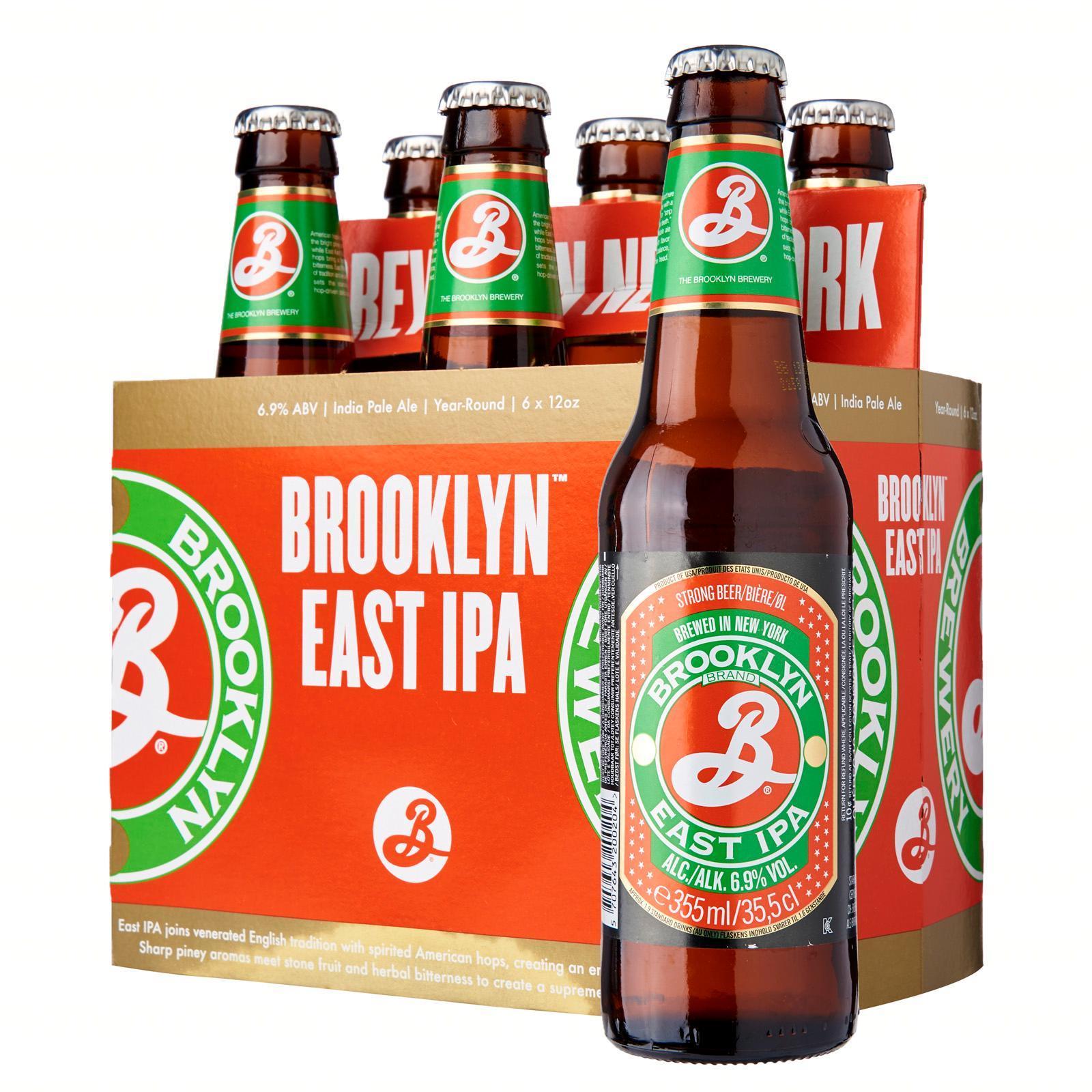 Brooklyn IPA Craft Beer 6s