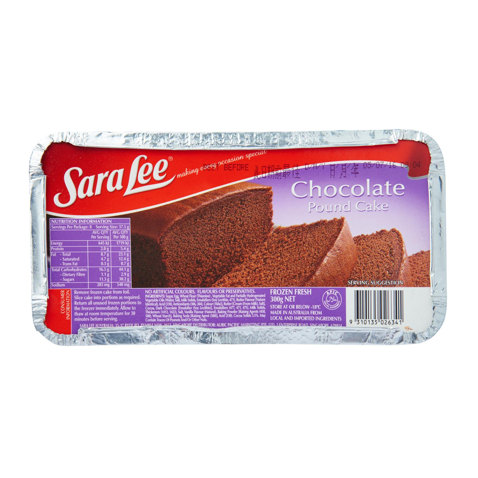 Sara Lee Chocolate - Frozen By Redmart.
