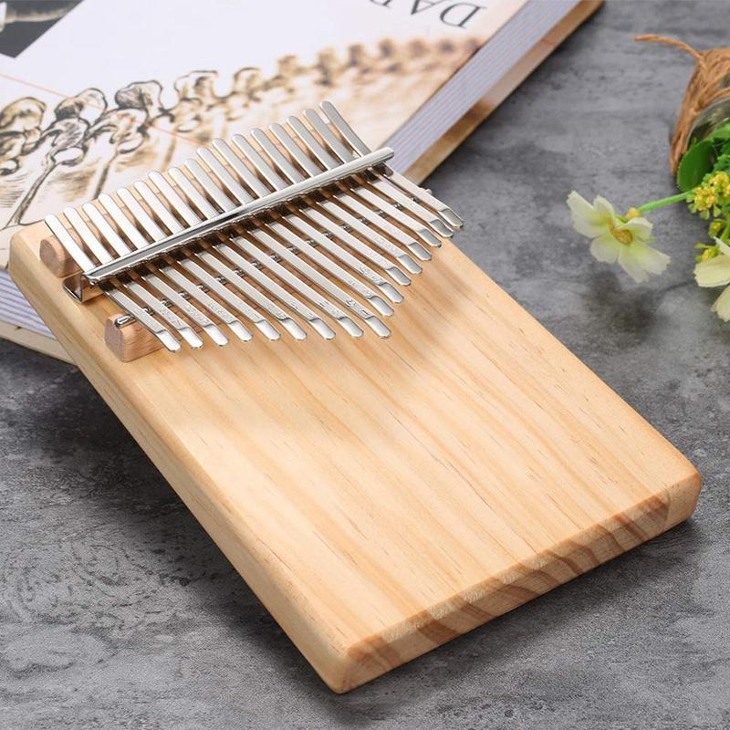 17 Keys Mbira Pocket Musical Instrument Finger Piano Kalimba Portable Thumb Piano Is Gift for Your Friends and Family Malaysia
