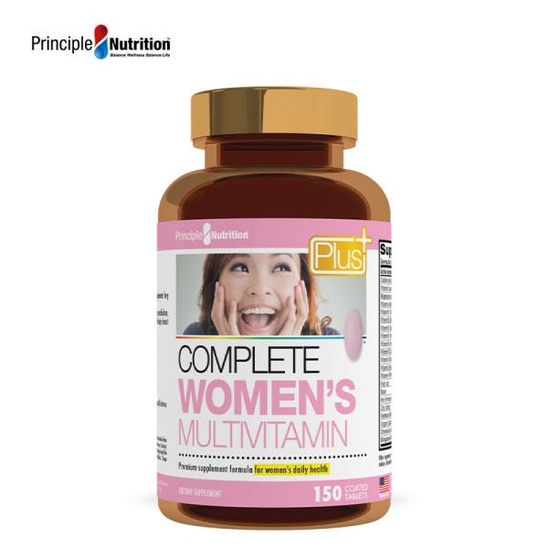 Buy Principle Nutrition PNPlus Complete Womens Multi Vitamin   150S Singapore