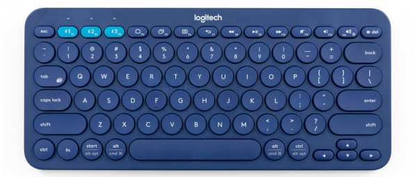 Logitech K380 Multi-Device Bluetooth Wireless Keyboard (iOS, Android, OSX, iPhone) For School & For Audio & Video Conferencing Singapore