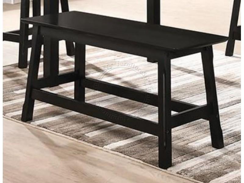 (FurnitureSG) Soild Wooden Dining Bench