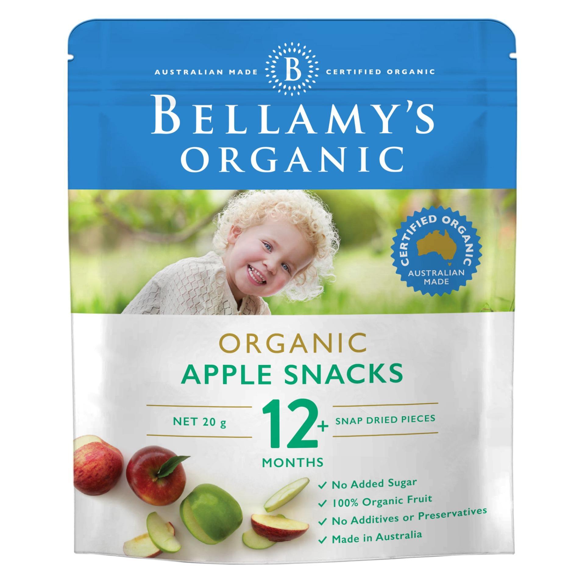 Bellamys Organic Organic Apple Snacks By Lazada Retail Bellamys Organic.