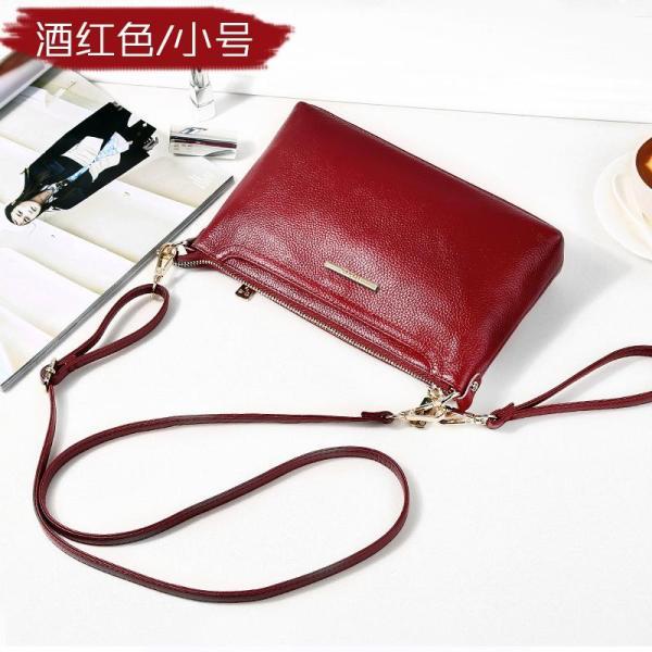 Shoulder Bag WOMENS Bag 2020 New Style Simple Versatile Hand Shoulder Full-grain Leather Soft Genuine Leather Middle-Aged Mommy Bag