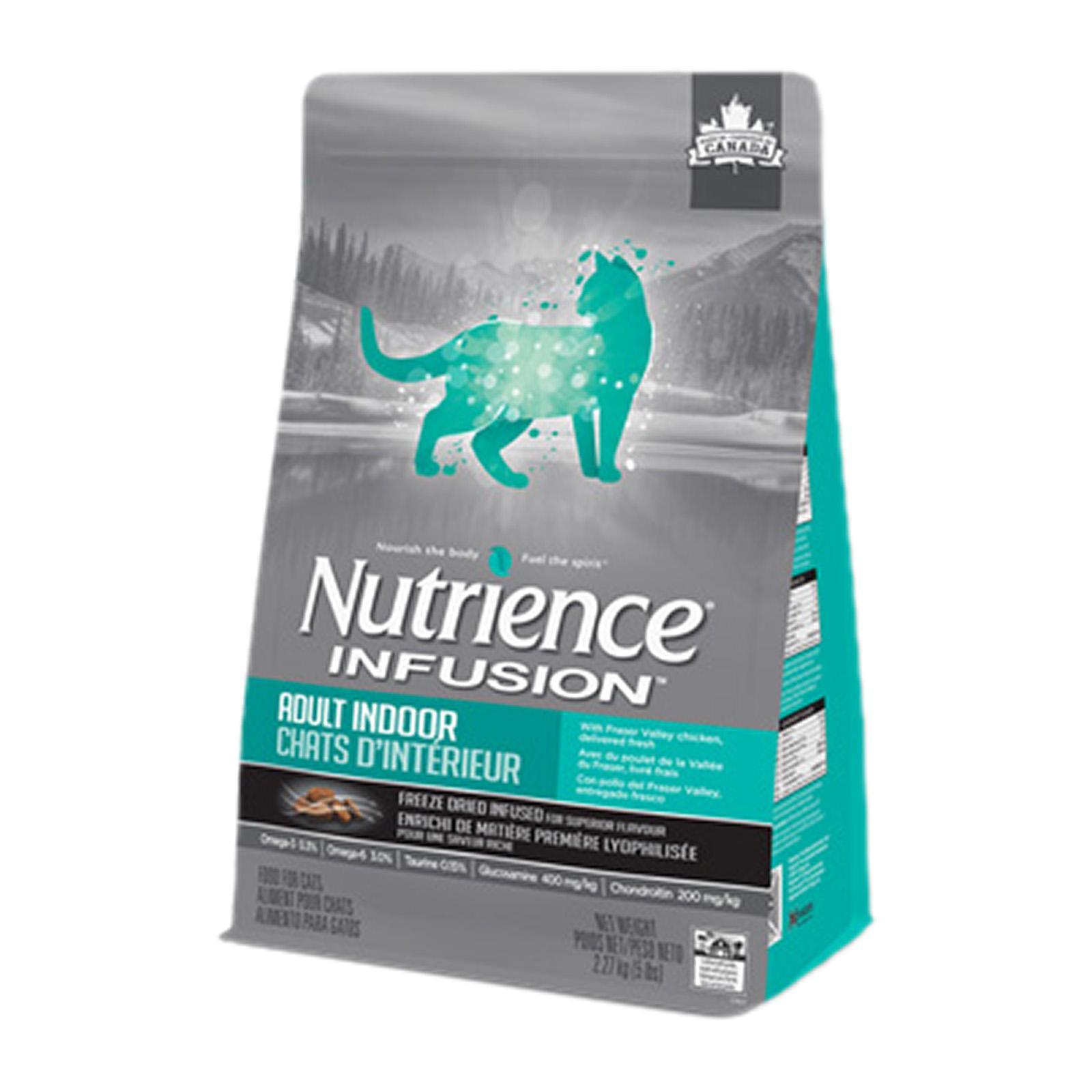 Nutrience Infusion Cat Adult Indoor Chicken 2.27KG