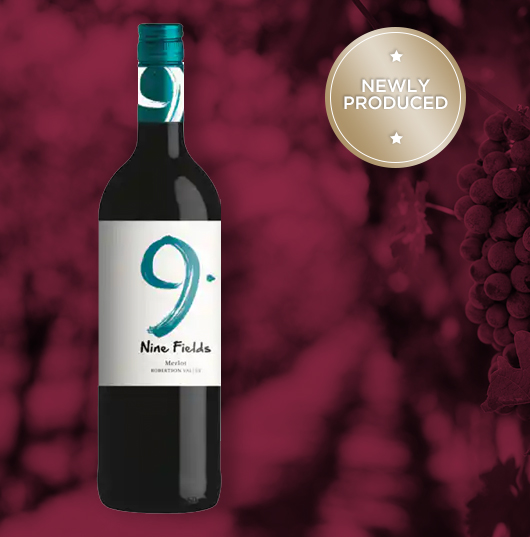 Ashton Winery 9 Fields Merlot (special Discount For Case Of 6).