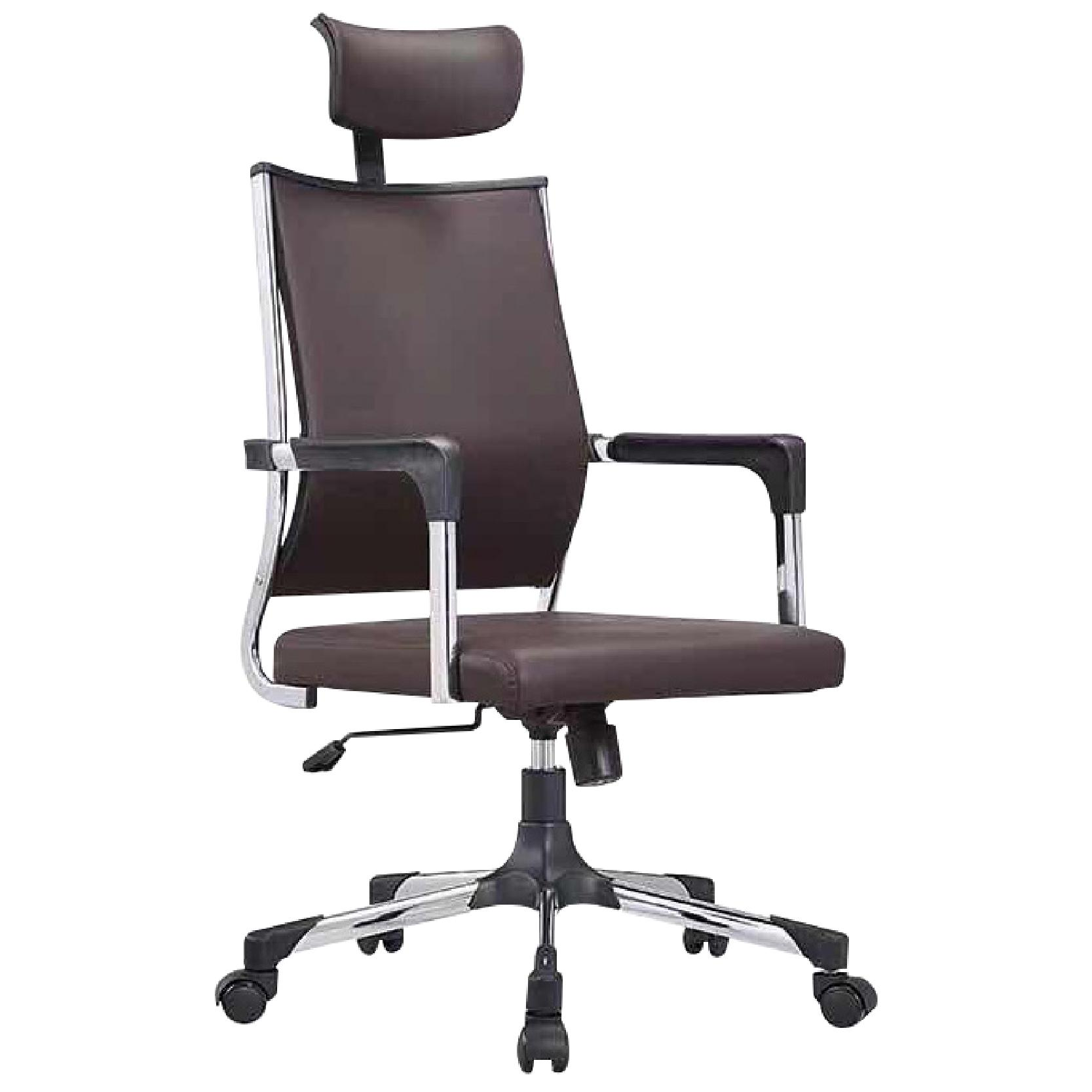 JIJI (TESSA Premium Manager Chair Ver 1 - Leather) / Office Chair / Study Chair / Adjustable Chair / Rotatable Chair / 12 Month Waranty / Free Installation / (SG)
