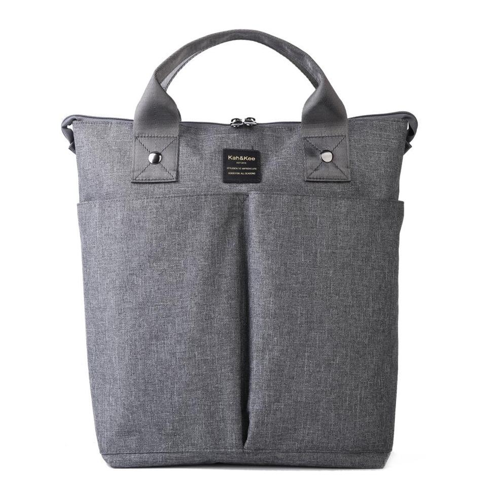 Kah&Kee water resistant 2 ways multifunction daily backpack hand bag diaper bag