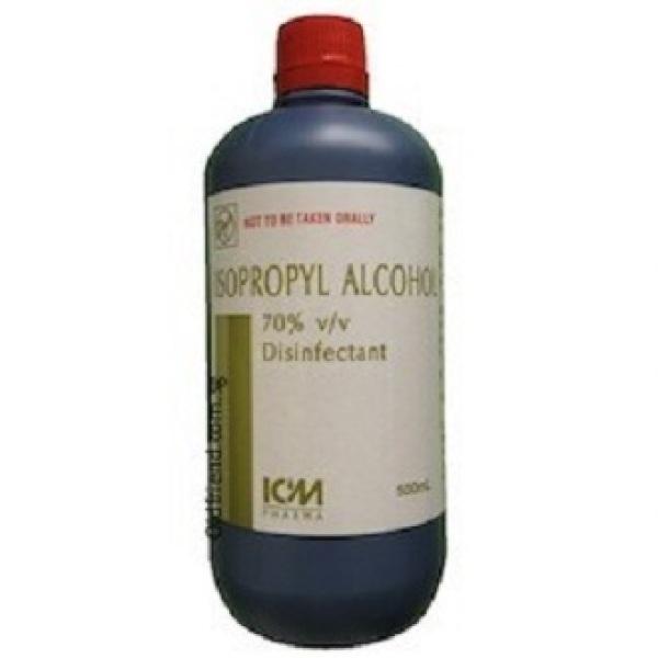 Buy ICM 70% Isopropyl Alcohol 500ml Assure ICM Bactishield Zappy Hospicare Singapore