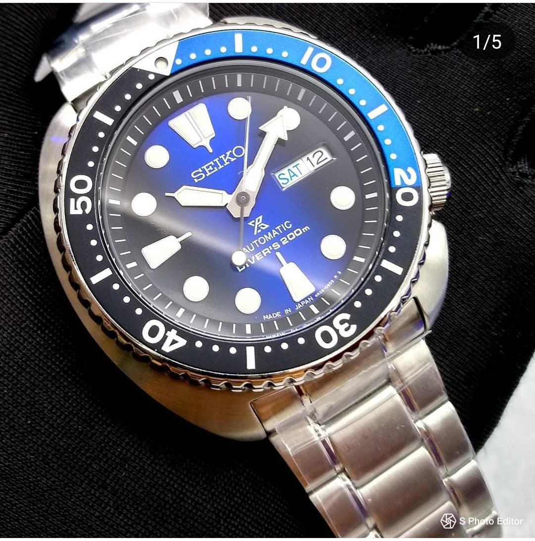 * MADE IN JAPAN * BRAND NEW SEIKO PROSPEX BATMAN TURTLE MENS AUTOMATIC DIVERS WATCH SRPC25 SRPC25J