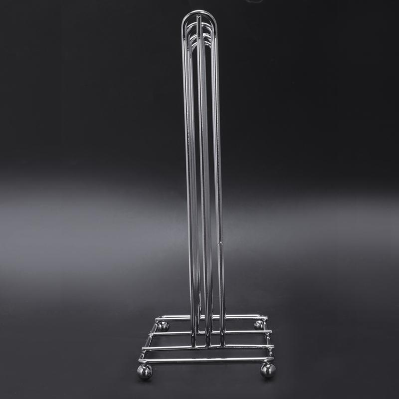 Oasiswj Metal Nespresso Capsule Coffee Pod Holder Accessories Tower Stand Display Rack Storage Capsule Organizer Tool