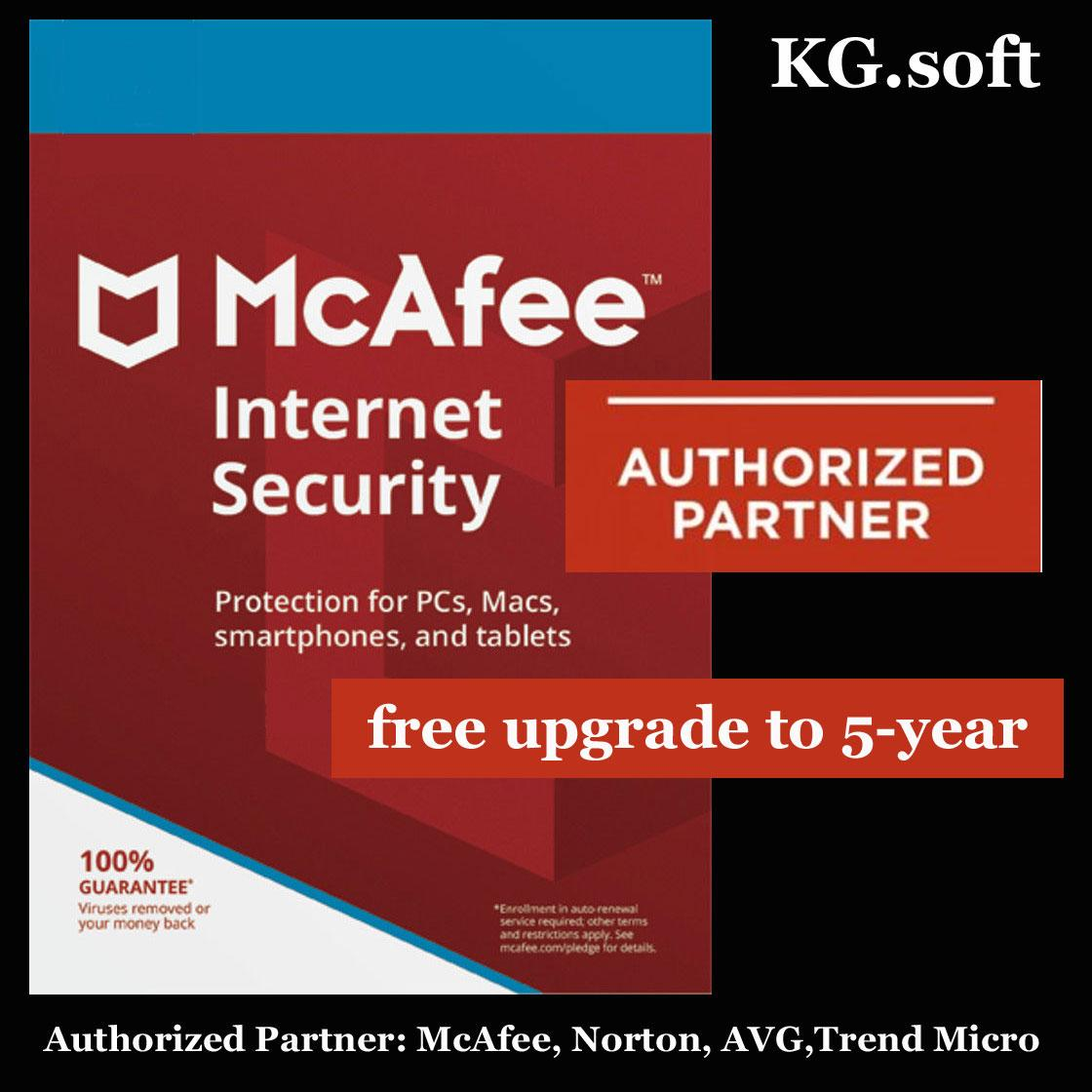 [1-device 3-year] McAfee Internet Security 2019 for 1-device 3-year  (Award-Winning Antivirus Protection, Safe Web Browsing, Document Shredder,  Wi-FI