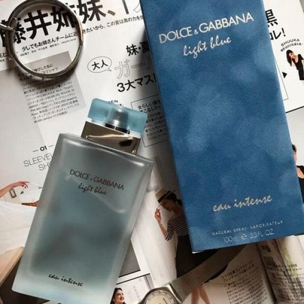Buy Dolce & Gabbana Light Blue Eau Intense for Women 100ml Singapore