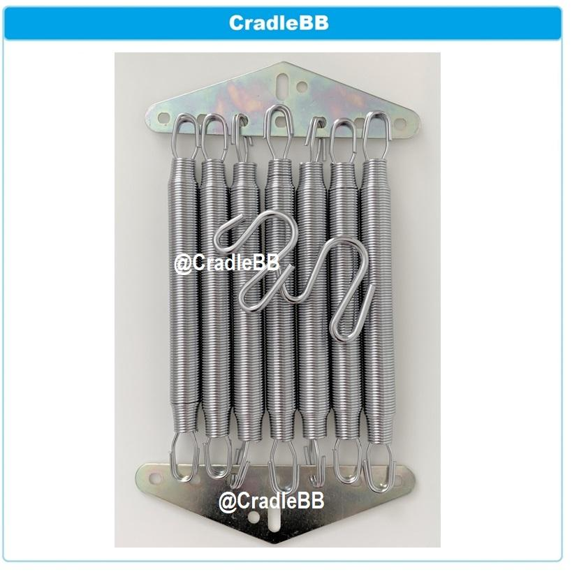 7 Pcs Springs For Cradle/spring Cot/yaolan/hammock By Cradlebb.