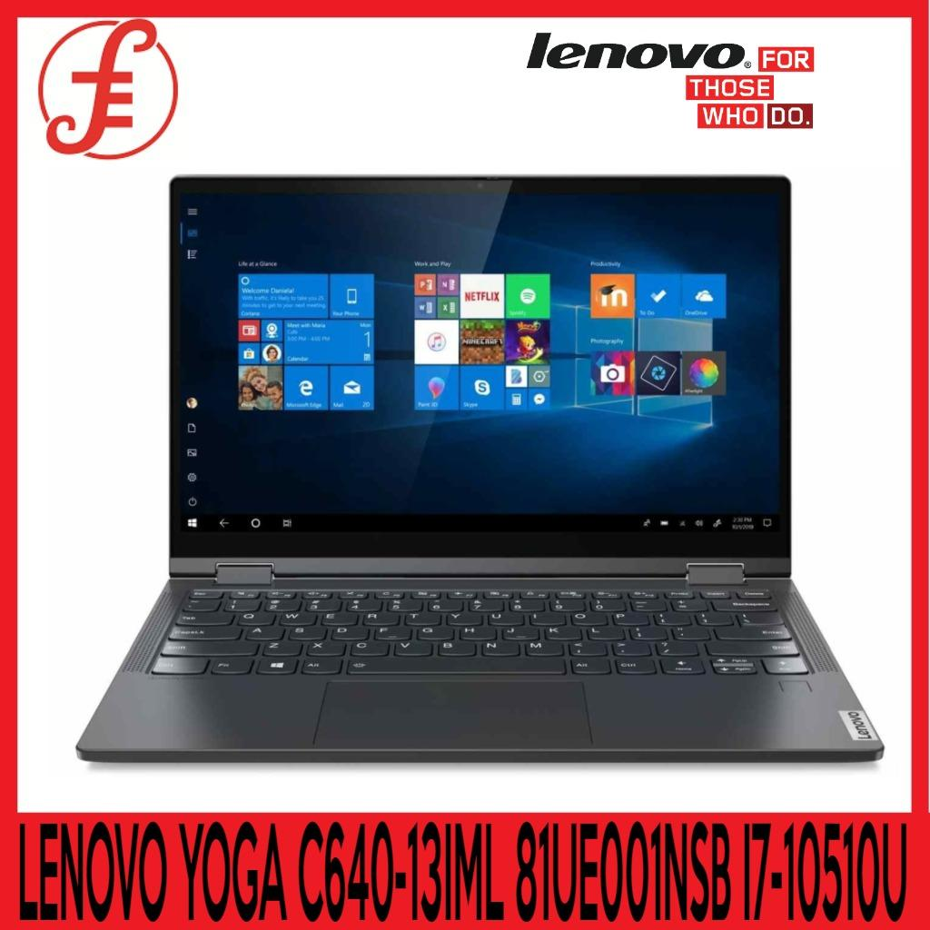 LENOVO YOGA C640-13IML 81UE001NSB 13.3IN FHD IPS INTEL CORE I7-10510U 16GB 512GB M2 PCIE WIN 10 HOME FREE GAMING HEADSET WITH MIC WHILE STOCKS LAST (YOGA C640-13IML 81UE001NSB )